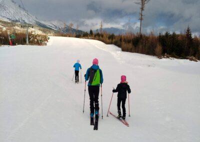 Skialpinizmus u najmladších