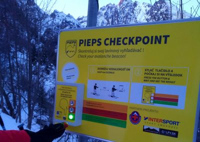 Pieps Check point